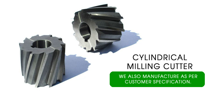 cylindrical milling cutters