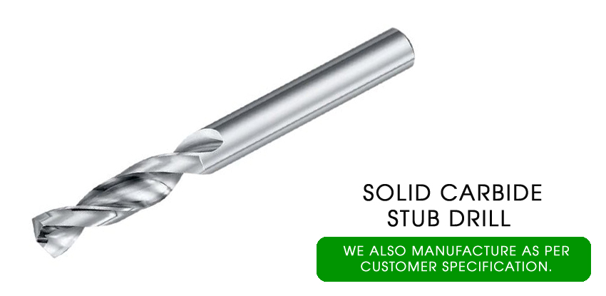 solid carbide stub drills